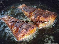 Ocean of Recipes Curry Recipes, Snack Recipes, Cooking Recipes, Indian Snacks, Indian Food Recipes, Mullet Recipe, Gobi 65, Green Chilli Sauce, Fish Cutlets