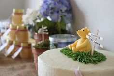 Classic Pooh/Hundred Acre Wood Baby Shower Party Ideas | Photo 9 of 34 | Catch My Party