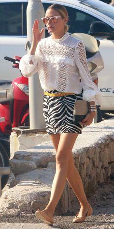 The Olivia Palermo Lookbook : Olivia Palermo in Mykonos