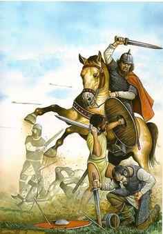 Batalla de Guadalete, por Ángel García Pinto. Más en www.elgrancapitan.org/foro