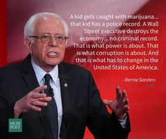 The truth, again. Bernie Sanders 2016
