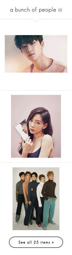 """a bunch of people iii"" by baekksi ❤ liked on Polyvore featuring bigbang, kpop, big bang, g-dragon, k-pop, 2ne1 - cl, cl, monsta x, seventeen and woozi"