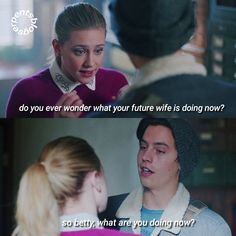 Cole y Lili🤩🤩🤩🤩🤩🤩 Riverdale Quotes, Bughead Riverdale, Riverdale Funny, Cute Relationship Goals, Cute Relationships, Riverdale Betty And Jughead, Riverdale Characters, Riverdale Cole Sprouse, Funny Memes