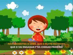 ▶ Capuchinho vermelho (@Jardim de Infância 4) - YouTube Mais