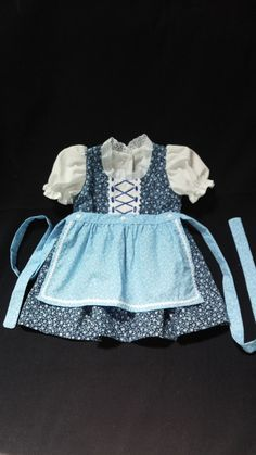 Hey, I found this really awesome Etsy listing at https://www.etsy.com/listing/193403146/blue-flowered-baby-dirndl