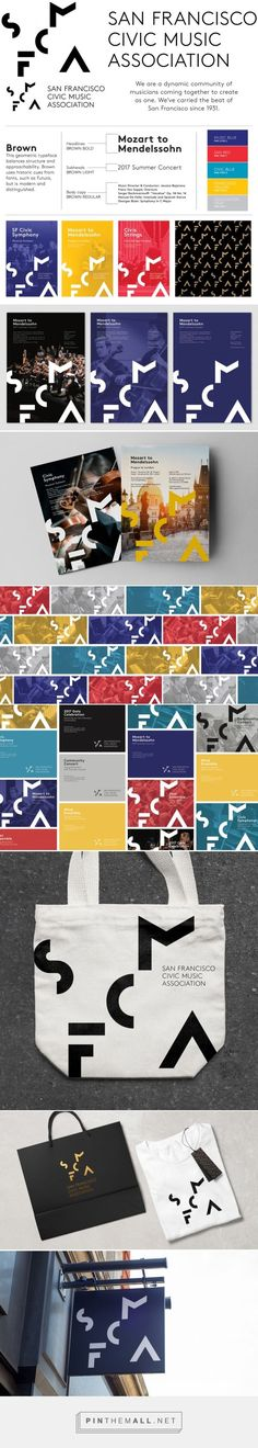 Love the saturated colors and geometric design created with font!