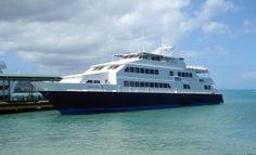 Catch the Ferry from Fajardo to Culebra or Vieques About $5 round trip and 1 1/2 hr trip each way