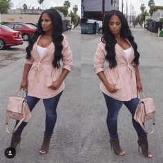 @makeupshayla in HMS - Jacket available at HotMiamiStyles.com - search: 15N921