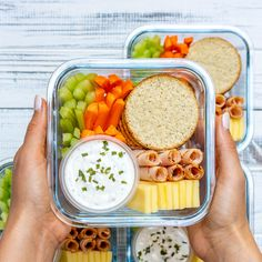 Homemade Ranch Delight Bento Boxes for Eating Clean All Summer! - Delivery Food - Ideas of Delivery Food - Homemade Ranch Delight Bento Boxes for Eating Clean All Summer! Healthy Food Delivery, Healthy Meal Prep, Healthy Snacks, Healthy Recipes, Delivery Food, Lunch Snacks, Clean Eating Snacks, Healthy Eating, Eating Habits