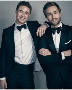 Max irons and Douglas booth