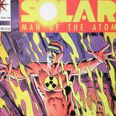 SOLAR: Man of the Atom 18 — Feb 1993 — Valiant Comics — X-O Manowar cameo