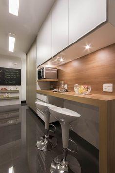 Cozinha projeto Luni Arquitetura Kitchen by Luni Arquitetura www.luniarquitetura.com.br #kitchen #arquitetura #architecture #decoration #interiordesign