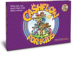 Cashflow for Kids teaches kids how to make money work for them, and not always have to make money.  This version is $40. a bit more reasonable.