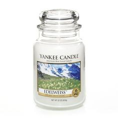 Yankee Candle – Edelweiss Large Jar