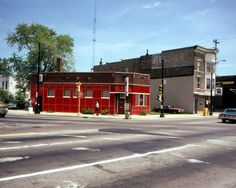 A old bar at the intersections of State Street, Marquett Street and Milwaukee Ave (Martain Luthren King Drive) Racine Wisconsin