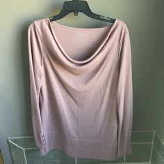 Loft Shirt ♡ LOFT shirt ♡ ♡ long sleeve ♡ ♡ color dusty purple ♡ ♡ very soft and loose fitting ♡ ♡ size large ♡ ♡ no trading ♡ ♡ fast shipping ♡ LOFT Tops
