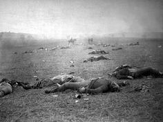 Battle of Gettysburg - Dead Union Soldiers