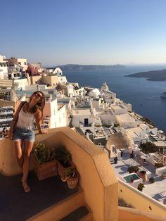 Summer in Greece. Santorini, Opera House, No Worries, Greece, Heart, Building, Summer, Travel, Greece Country