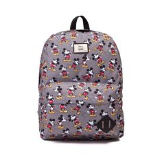 Disney and Vans team up to bring you the Old Skool II Mickey Mouse Backpack…