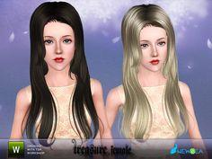 Newsea Treasure Female Hairstyle