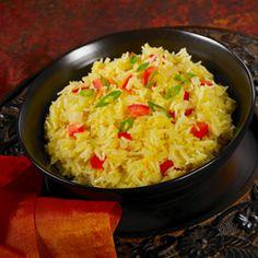 Basmati Rice Pilaf made with orange juice!