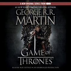 "Another must-listen from my #AudibleApp: ""A Game of Thrones"" by George R. R. Martin, narrated by Roy Dotrice."