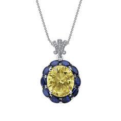 $385 Stunning fancy pendant