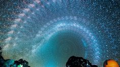Long exposures of the night sky stacked beside eachother. Mesmerising.