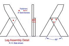 Picture of Then Assemble the Leg Units