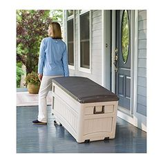 Large Outdoor Storage Box, 2015 Amazon Top Rated Storage Benches #Lawn&Patio
