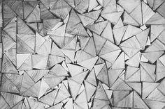 Stack, Wood, Pile, Triangular, Pattern