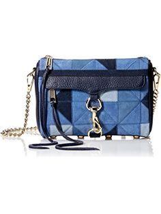 Rebecca Minkoff Mini Mac, Blue/Multi ❤ Rebecca Minkoff Rebecca Minkoff Handbags, Gifts For Women, Mac, Blue, Poppy