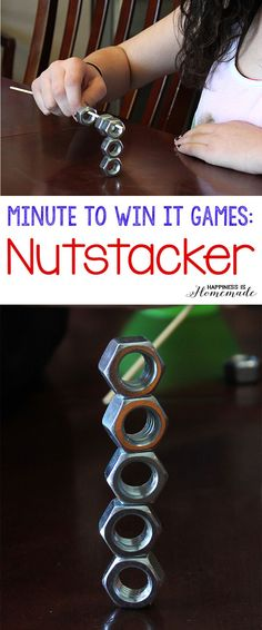Minute to Win It Games - Nutstacker