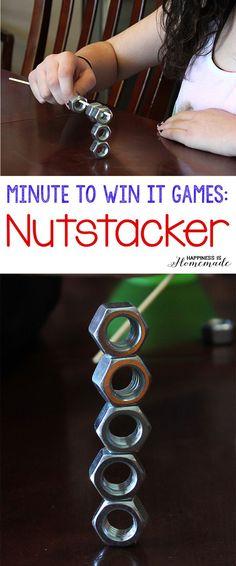 Minute to Win It Games - Nutstacker