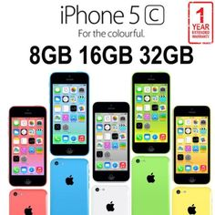 #Apple #iphone 5c 8gb 16gb 32gb #factory unlocked smartphone - various colours uk,  View more on the LINK: 	http://www.zeppy.io/product/gb/2/152283597219/