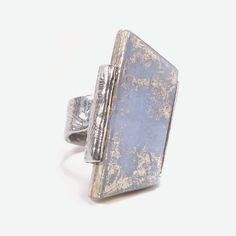 ANNE MARIE CHAGNON BAGUE PASSAT BLEU CIEL Create And Craft, Ciel, Pewter, Marie, Jewelry Making, Bronze, Passat, Wallet, Rings
