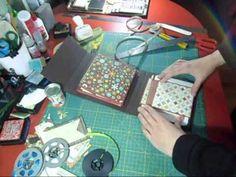 tutorial flip flap paperbag album parte 2