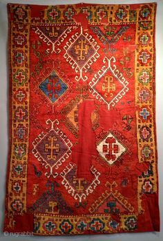 18th century Central Anatolian Rug, 120x180cm. I will be exhibiting it at the ICOC Dealers Fair in Washington DC August 6-9, among other great Anatolian rugs and kilims.