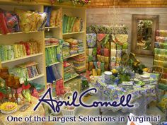 April Cornell has the prettiest clothes and linens.