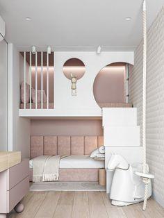 Kids Bedroom Designs, Room Design Bedroom, Room Ideas Bedroom, Small Room Bedroom, Home Room Design, Tiny Bedrooms, Small Rooms, Bedroom Furniture, Small Spaces