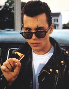Johnny Depp from Crybaby can hold my heart