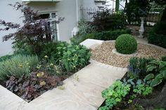 creating a decorative gravel garden garden design