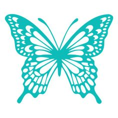 Silhouette Design Store: butterfly filigree