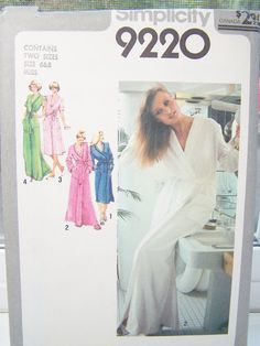 Vintage Simplicity 9220 Misses' Sewing Pattern by WitsEndDesign