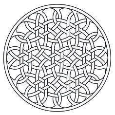 Celtic knot-work by Peter Mulkers Rosetta AutoCAD