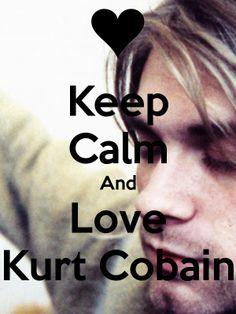 Kurt Cobain = the king of my heart. (:
