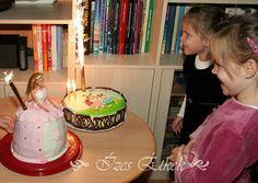 Ízes étkek: Barbie torta és Bogyó és Babóca torta a lányaimnak...