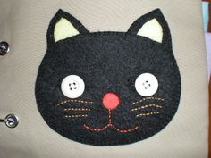 ohayo, oyasumi - black cat