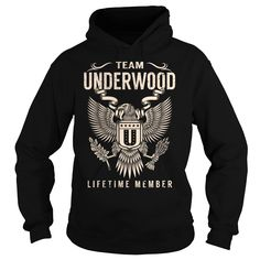 Team UNDERWOOD Lifetime Member - Last Name, Surname T-Shirt