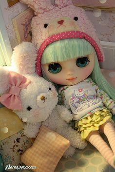 Minzy! (Middie Blythe Melomelomew custom by Keera - Nerea Pozo)